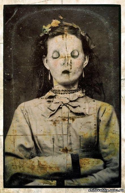 Почему раньше фотографировали мертвых людей как живых